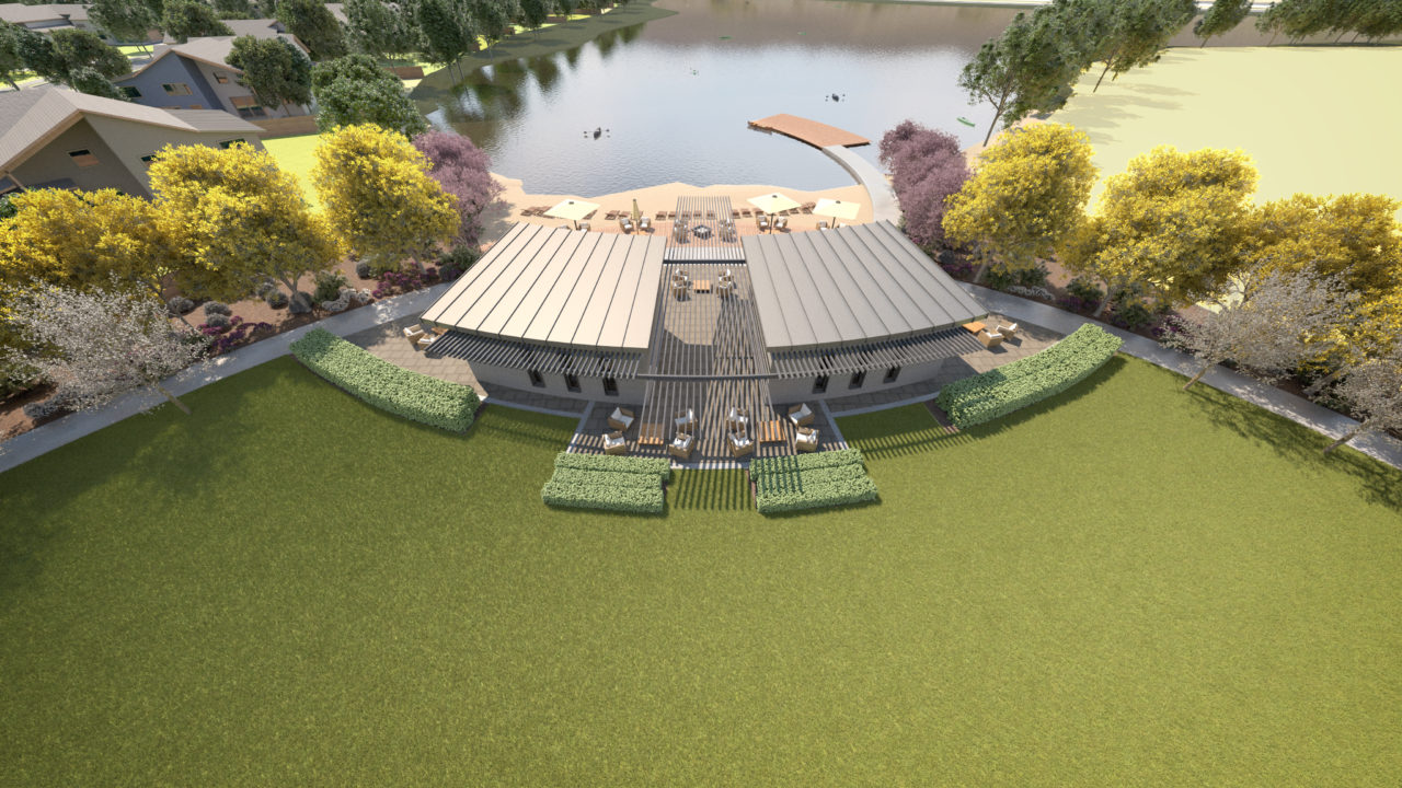 Riverstone Clubhouse Rendering